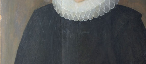 Portrait of a widow before treatment
