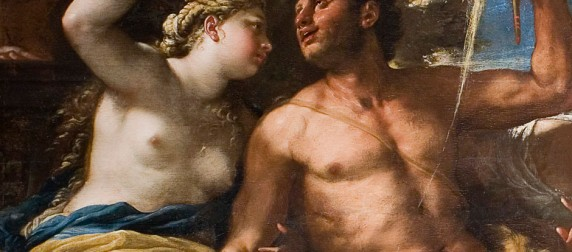 Luca Giordano after treatment detail