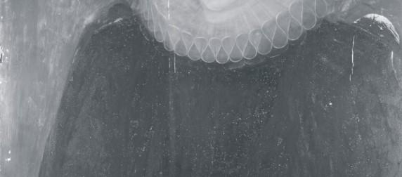 Portrait of a widow infrared