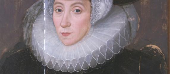 Portrait of a widow